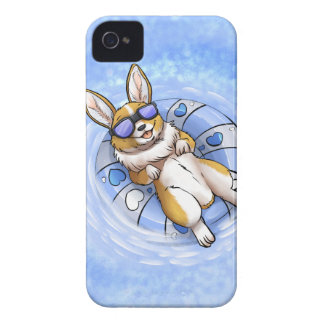 Spoiled Corgi iPhone 4 Cases