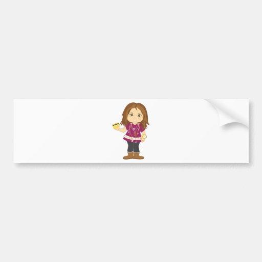 Spoiled Girl Bumper Sticker