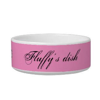 Spoiled Pet Pink Bowl Cat Water Bowl