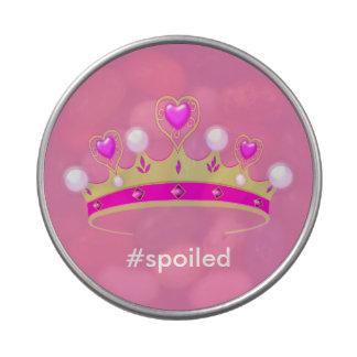 Spoiled Princess Metal Peek-A-Boo Jelly Belly Tin