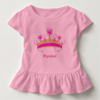 Spoiled Princess Toddler Ruffle Tee