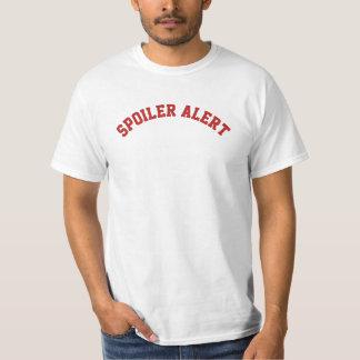 Spoiler Alert DIY text+font+color T-Shirt