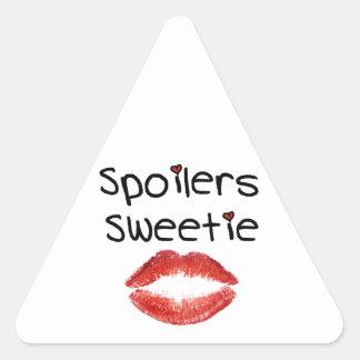 Spoilers Sweetie Triangle Sticker