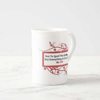 Spoiling The Ending Bone China Mug