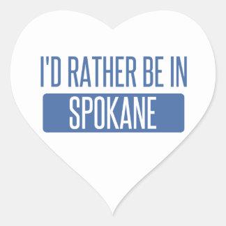 Spokane Heart Sticker