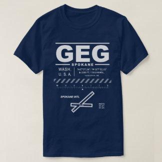 Spokane International Airport GEG Tee Shirt