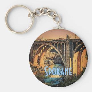 Spokane Keychain