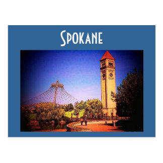 Spokane (Park) Postcard