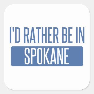 Spokane Square Sticker