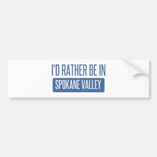Spokane Valley Bumper Sticker