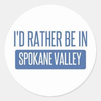 Spokane Valley Classic Round Sticker