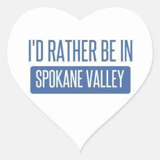 Spokane Valley Heart Sticker