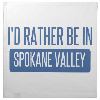 Spokane Valley Napkin