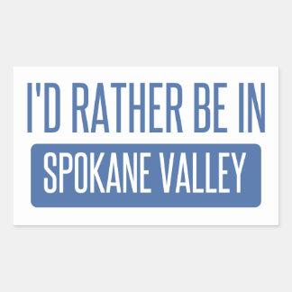 Spokane Valley Rectangular Sticker