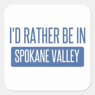 Spokane Valley Square Sticker