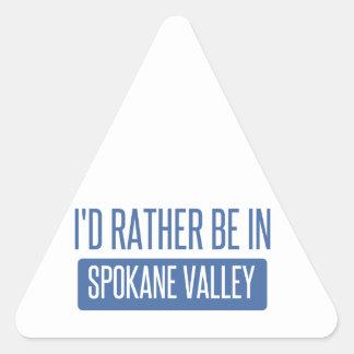 Spokane Valley Triangle Sticker