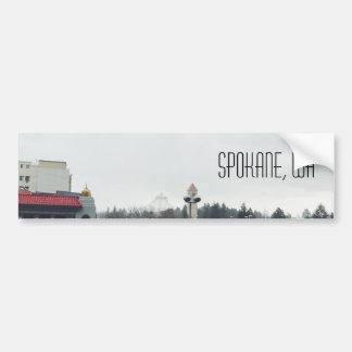 Spokane Wa Bumper Sticker