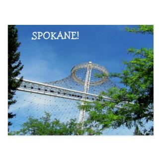 Spokane's US Pavilion Postcard