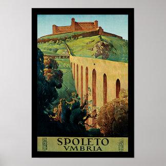 Spoletto ~ Umbria Poster