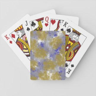 Sponge Print Design Playing Cards