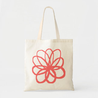 Spontanious Flower - Tropical Pink Tote Bag