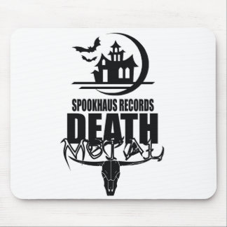 Spookhaus Records Death Metal Logo Mouse Pad