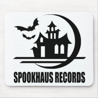 Spookhaus Records Logo Mouse Pad