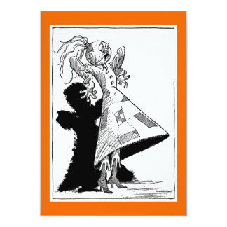 Spookie's Party 5x7 Paper Invitation Card
