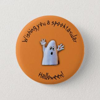 Spooktacular Halloween button