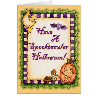 Spooktacular Halloween - Greeting Card