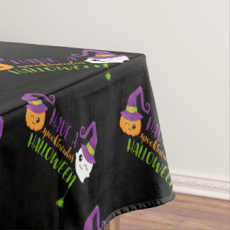 Spooktacular Halloween Party Personalized Tablecloth