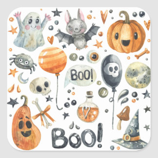 Spooktacular Halloween Party | Sticker Seal