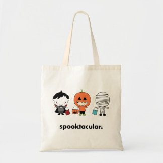 Spooktacular Halloween Trick or Treat Candy Bag