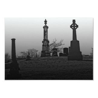 Spooky 9 Cm X 13 Cm Invitation Card