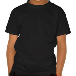 Spooky Alien Large Black Youth T-shirt