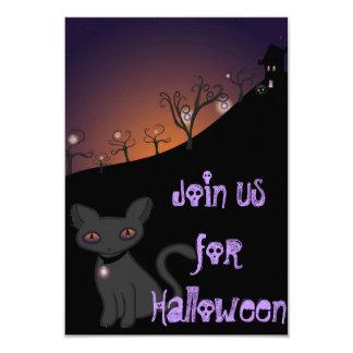 Spooky and Feminine Invite
