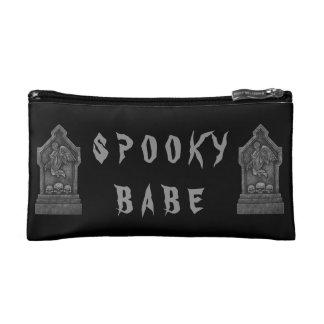 Spooky Babe Zip Bag Cosmetic Bags