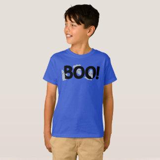 Spooky Cartoon Ghosts Haunted Boo Halloween T-Shirt