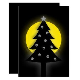 Spooky Christmas Tree Card
