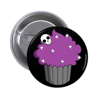 Spooky Cupcake 6 Cm Round Badge