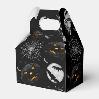 Spooky Dark Halloween Pattern Favour Box