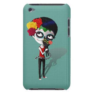 Spooky Dia de Los Muertos Girl Barely There iPod Cover