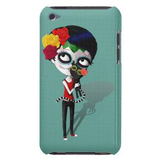 Spooky Dia de Los Muertos Girl iPod Touch Case