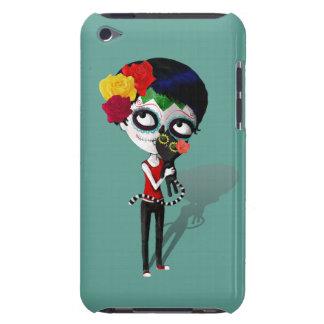 Spooky Dia de Los Muertos Girl iPod Touch Cover