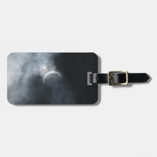 Spooky Eclipse Storm Clouds 2017 Luggage Tag