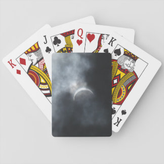 Spooky Eclipse Storm Clouds 2017 Playing Cards