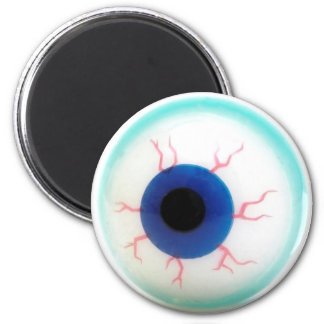 Spooky Eyeball 6 Cm Round Magnet
