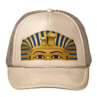 Spooky eyes of King Tut Mask Costume Hat