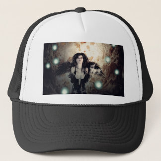 Spooky Forest and Dark Witch3 Trucker Hat