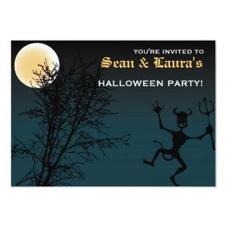 Spooky Fun! 13 Cm X 18 Cm Invitation Card
